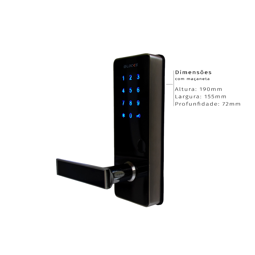 Fechadura Eletrônica Ébano 600 Smart Plus: a solução ideal para locação por temporada